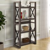 Telemark 4 Shelf Etagere Bookcase by Winston Porter