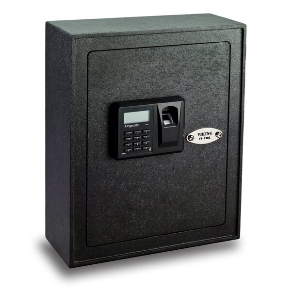 Viking Security Safe Viking Security Safe Small Biometric Keypad Wall Safe Wayfair