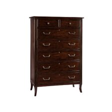 Central Park 7 Drawer Standard Chest by Hekman