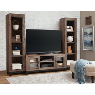 Quinley Console Entertainment Center for TVs up to 70 with 2 Open Pier by Gracie Oaks