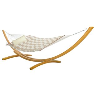 Pace Pillowtop Double Tree Hammock with Stand
