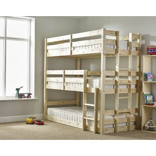 Derby 3 Tier Triple Sleeper Bunk Bed. By Just Kids
