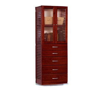Downing 16 Deep 26.25W Tower with Drawers and Doors by Rebrilliant