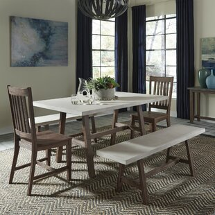 Spells Trestle 5 Piece Dining Set Trent Austin Design