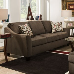 Simmons Upholstery Olivia Queen Sleeper Sofa by Darby Home Co