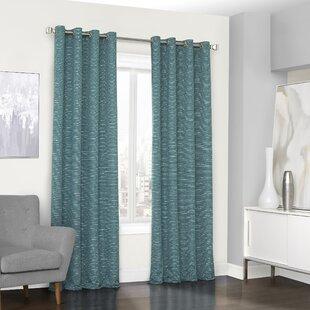 Turquoise Bedroom Curtains | Wayfair