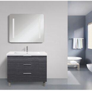 Shaver LED Back-Lit Touch Sensor Bathroom/Vanity Mirror ByOrren Ellis