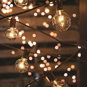 20 light 19 ft globe string lights - Room Christmas Lights