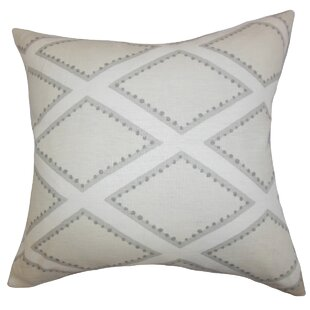Alaric Geometric Cotton Throw Pillow
