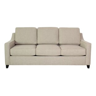 Clark 82 Square Arm Sofa Bed by Edgecombe Furniture