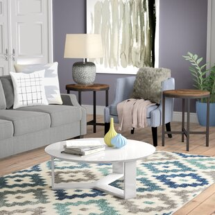 Look for Emiliah 2 Piece Coffee Table Set By Zipcode Design