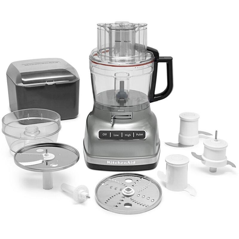 Kitchenaid exactslice system 11 cup food processor reviews wayfair exactslice system 11 cup food processor forumfinder Images