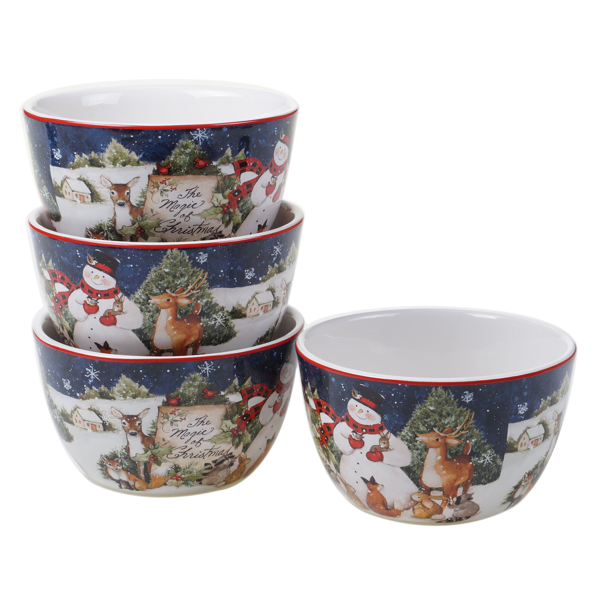 Christmas Dessert Types Dining Bowls You Ll Love In 2021 Wayfair