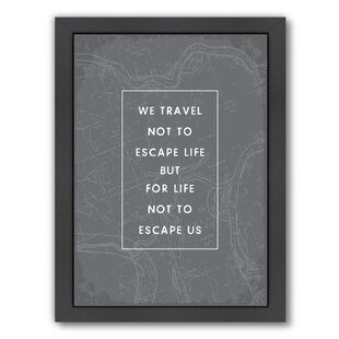Travel Quotes Wall Art Wayfair