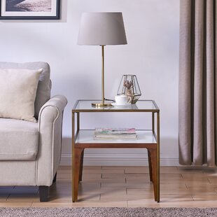 Affordable Hauer End Table by Wrought Studio
