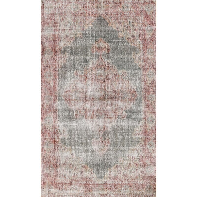 Bloomsbury Market Mcnairy Traditional Red Sea Green Area Rug Wayfair