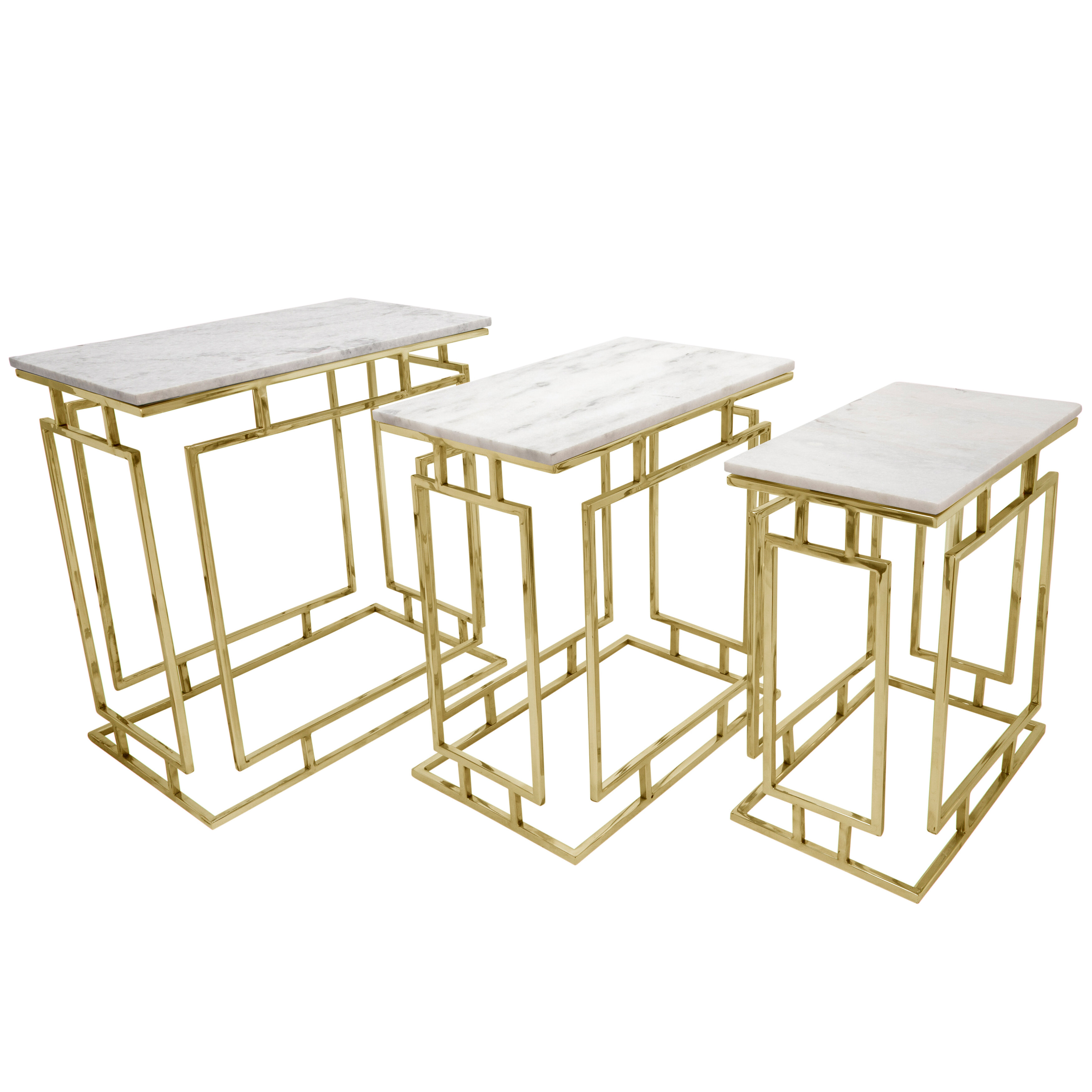3 Gold End Side Tables You Ll Love In 2021 Wayfair