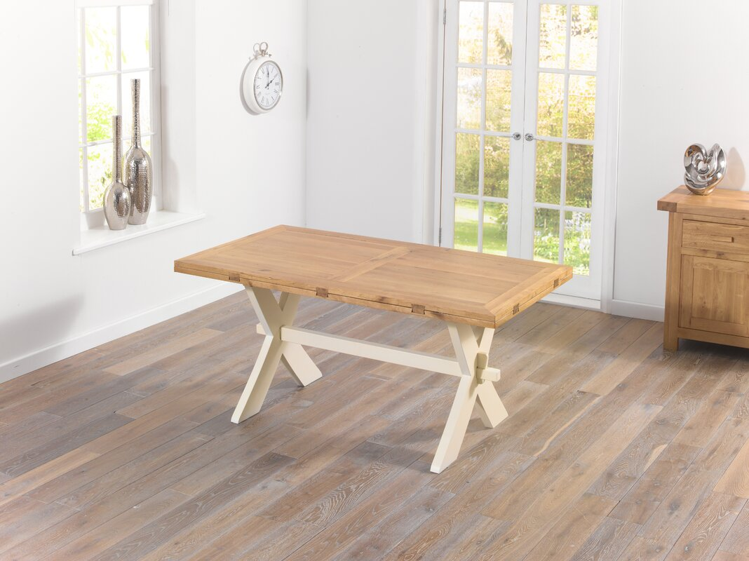 Home Etc Essgruppe Rochelle mit ausziehbarem Tisch und 8 Stühlen ...