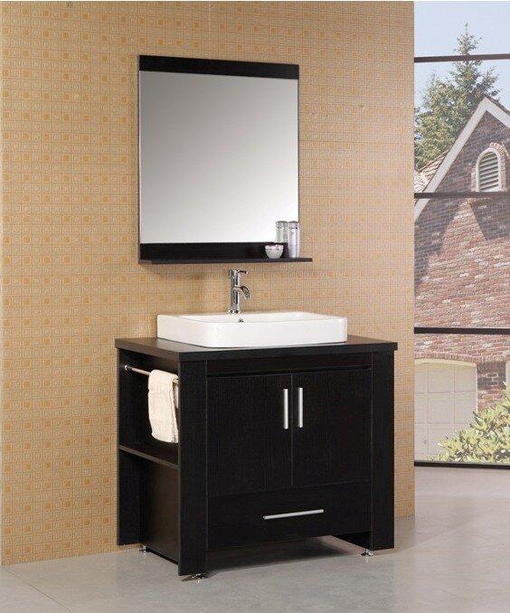 "Bathroom Vanities Jackson Tn wade logan parsons 36"" single modern bathroom vanity set with"