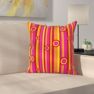 Modern Square Pillow Cover by East Urban Home Find