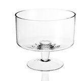 Jupiter Contemporary Decorative Bowl in Clear