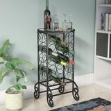 Fox 15 Bottle Floor Wine Bottle Rack by Alcott Hill
