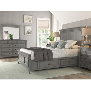 Sefton Traditional Queen Storage Sleigh Customizable Bedroom Set