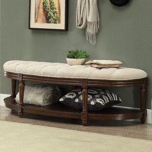 Reviews Bowers Wood Bench By Darby Home Co