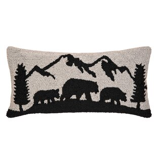 Redinger Black Bear Mountain Lumbar Pillow