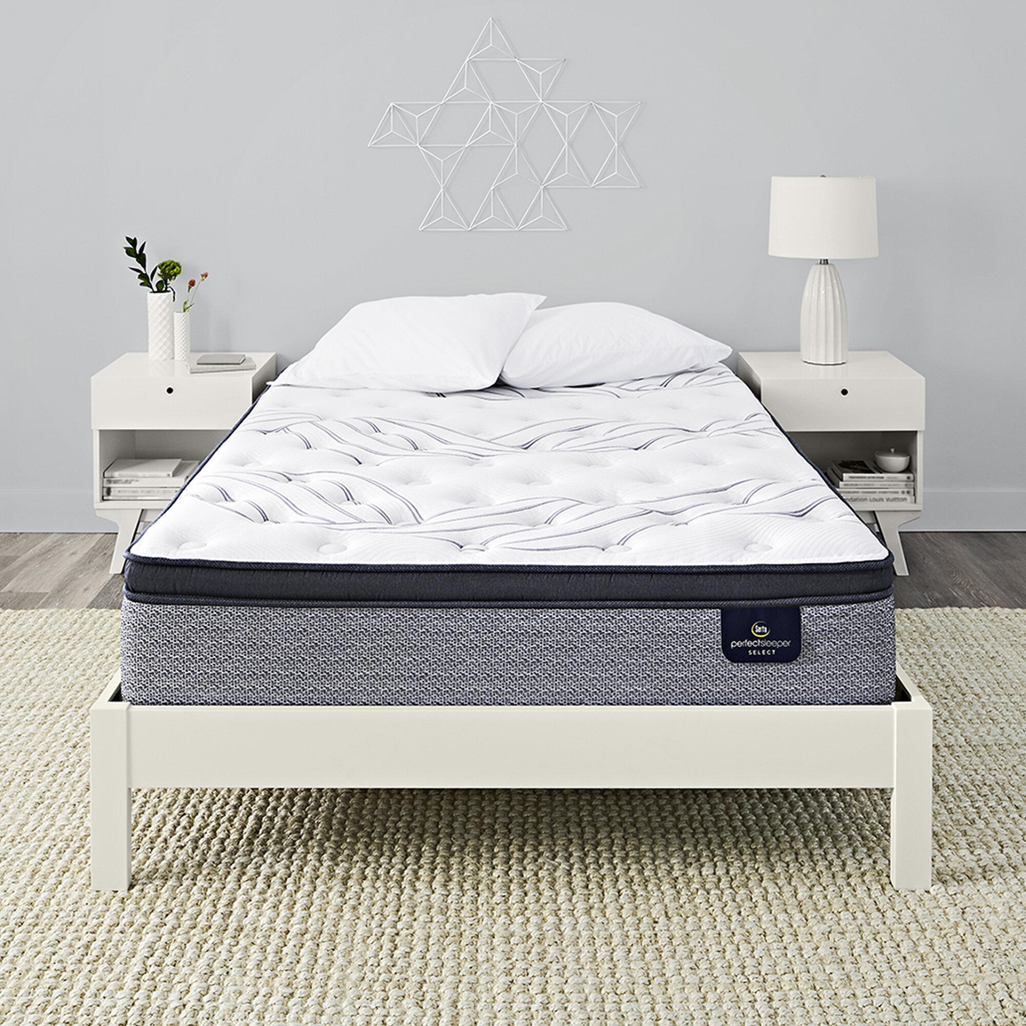 Serta 4 Pillow Top And Memory Foam Mattress Topper Cal King Home Garden Bedding