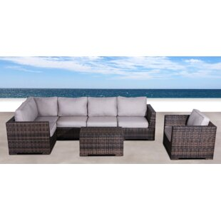 Pierson Resort 3 Piece Sectional Set with Cushions