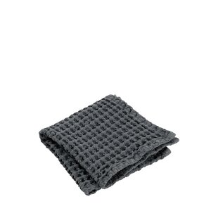 Waffle Bathroom Cotton Washcloth (Set of 2)