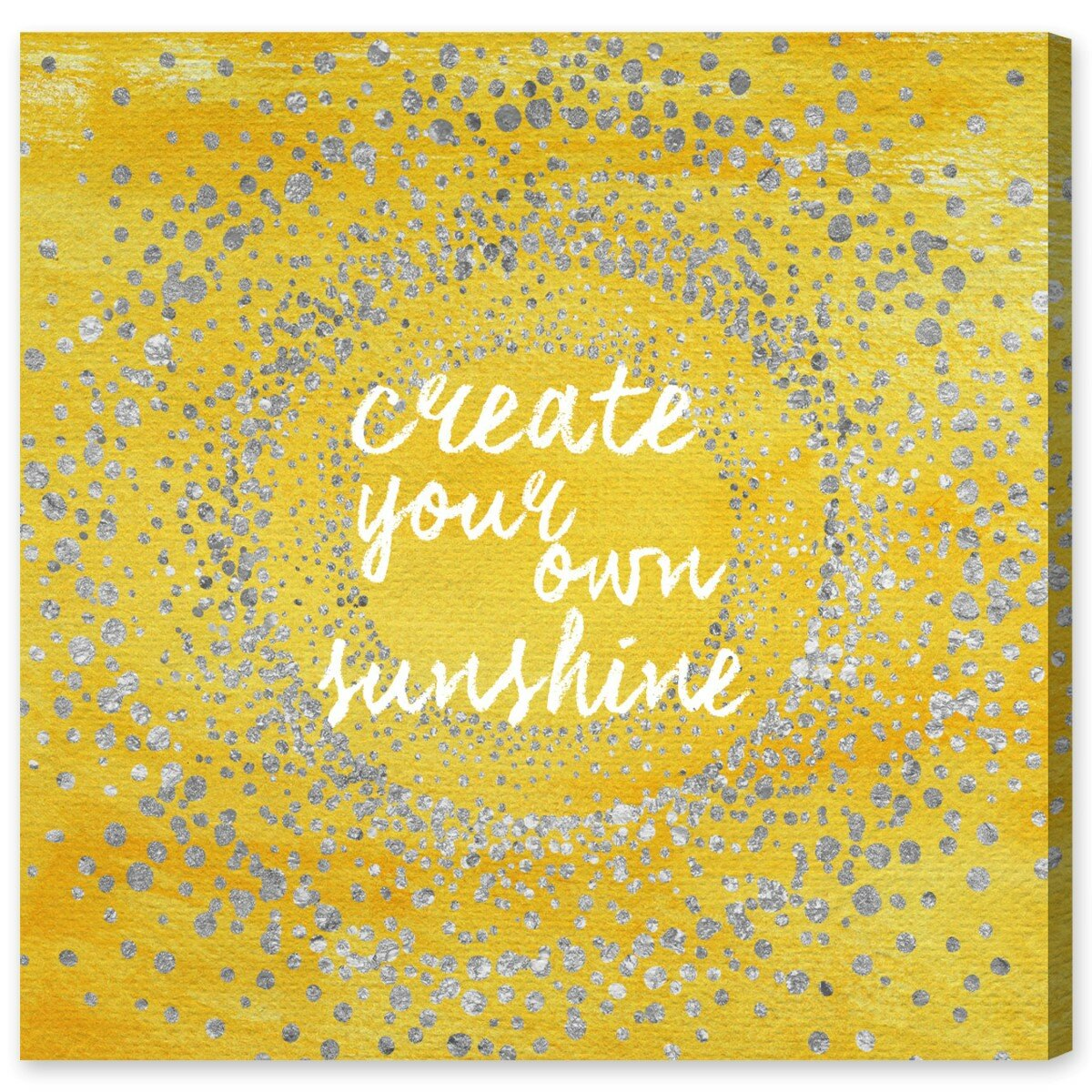 Designed by Deb Strain Art Wall Plaque 12 x 12 Stupell Industries You Fill My Life with Sunshine Quote Sunflower Family Phrase