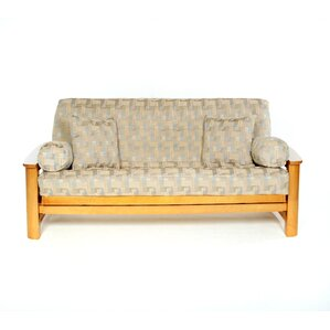 Box Cushion Futon Slipcover by Lifestyle Cov..