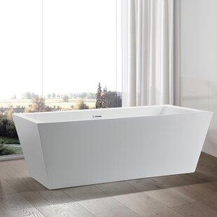 Great Price 67 x 31.5 Freestanding Soaking Bathtub ByVanity Art