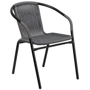 Acadian Stacking Patio Dining Chair By Three Posts