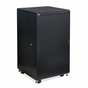 Linier Solid and Vented Doors Server Cabinet by Kendall Howard