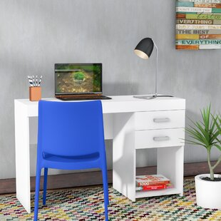 Commer 2 Drawer Writing Desk by Ebern Designs Design