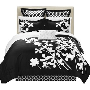 Iris 7 Piece Comforter Set by Chic Home Fresh