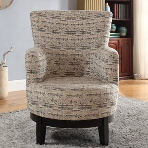 Gianna Swivel Armchair by Nathaniel Home