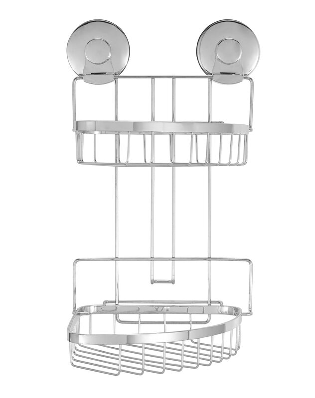 Everloc Endure Wall Mounted Shower Caddy & Reviews | Wayfair