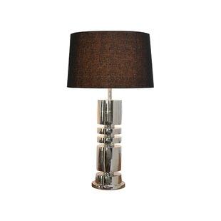 Brushed nickel table lamps wayfair glatt nickel 32 table lamp aloadofball Image collections