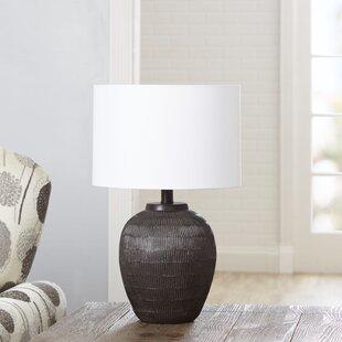 Hanover Faux Bois 18.5 Table Lamp
