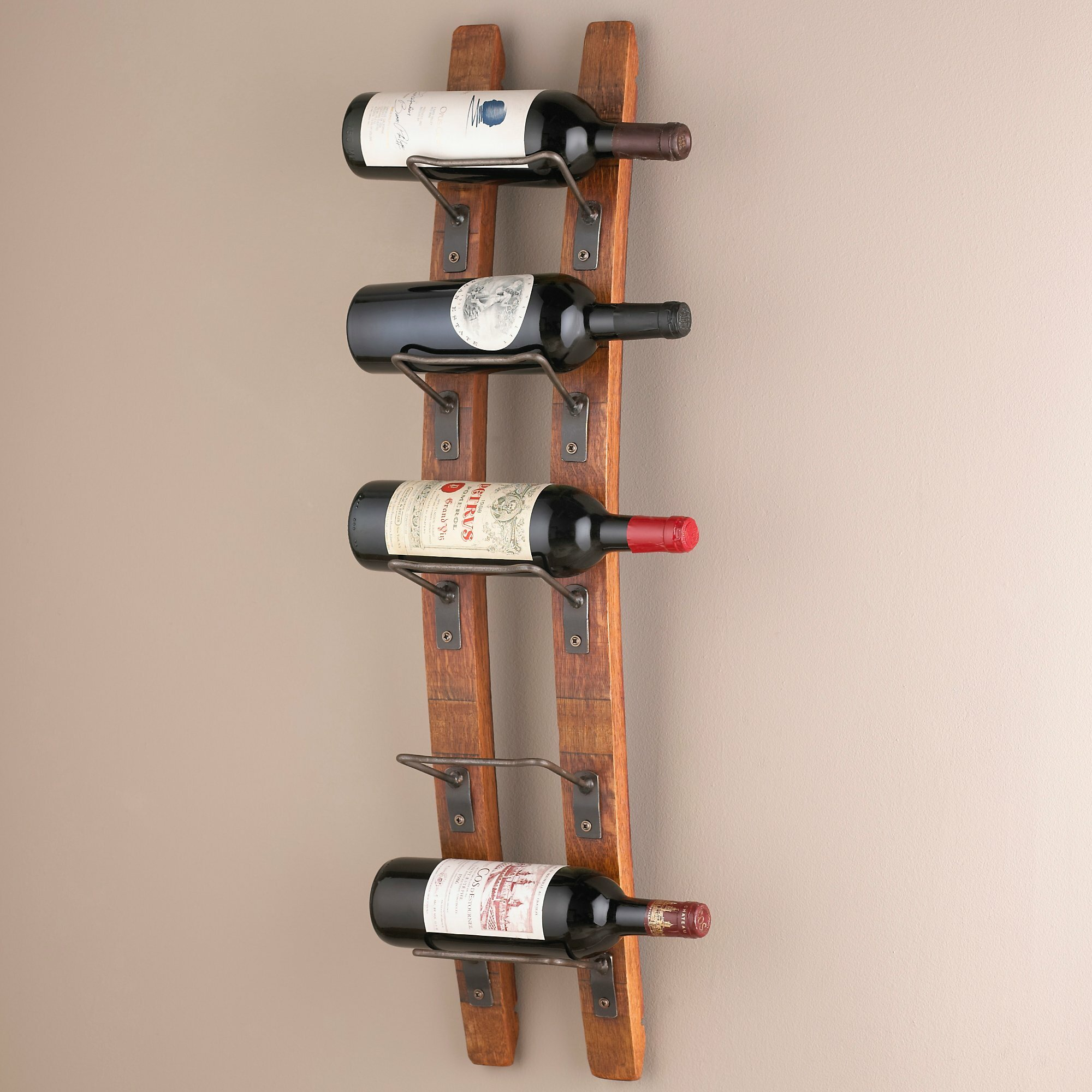 Trent Austin Design Blackburn 5 Bottle Wall Mounted Wine Rack