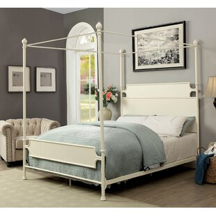 Jenkins Metal Canopy Bed by Gracie Oaks Best Design