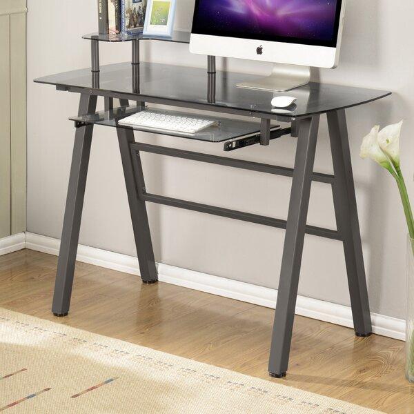 Zipcode Design Carolus Keyboard Tray Writing Desk U0026 Reviews   Wayfair