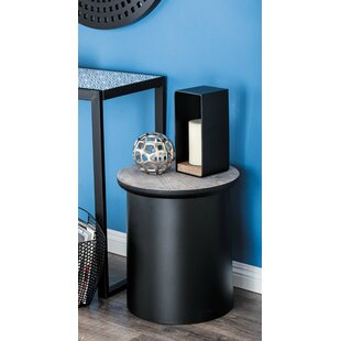Compare Osterley End Table with Storage by Gracie Oaks