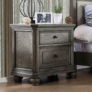 Gaetan 2 Drawer Nightstand