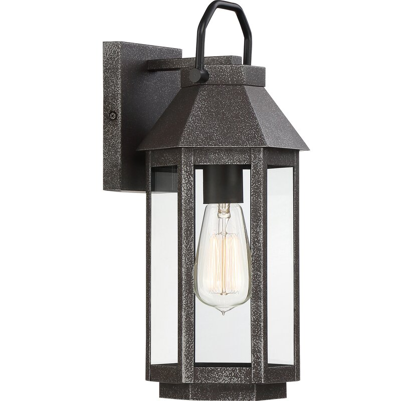 Charlton Home Householder Outdoor Wall Lantern Wayfair