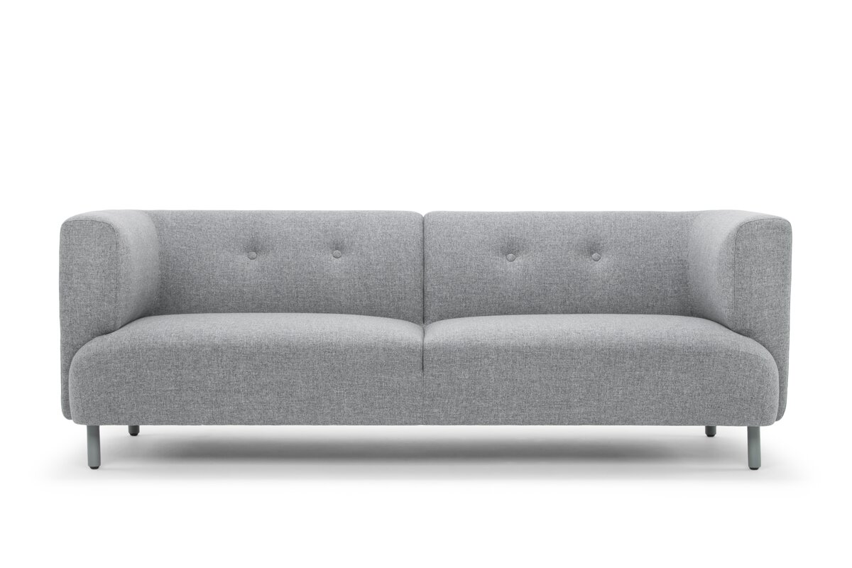 Chesterfield sofa modern  Wade Logan Bakos Classic Modern Chesterfield Sofa & Reviews | Wayfair